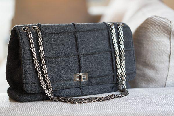 Chanel Gris tissus