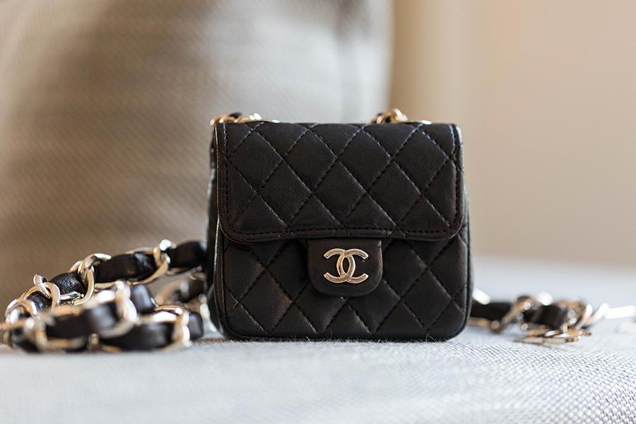 petit Chanel noir bandoulière