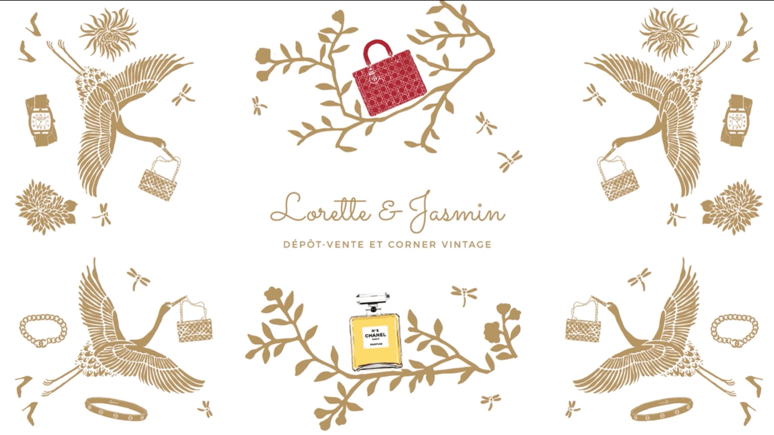 Lorette et Jasmin dépôt vente paris